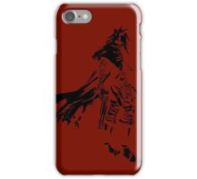 Vincent Valentine Minimalist Red iPhone Case/Skin