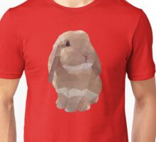 Peanut Bunny the Rabbit Polygon Art Unisex T-Shirt