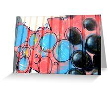 Graffiti design 002 - by Ana Canas Greeting Card