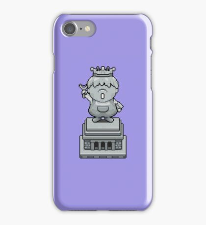 King Pokey Statue - Mother 3 iPhone Case/Skin