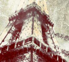 Retro Image of the Eiffel Tower Sticker