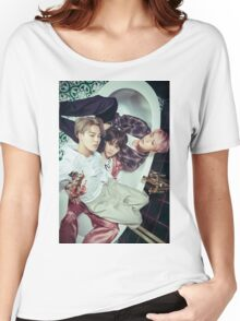 BTS WINGS \ JIMIN , SUGA , JIN  Women's Relaxed Fit T-Shirt