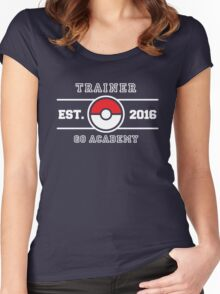 Trainer Go Academy Women's Fitted Scoop T-Shirt