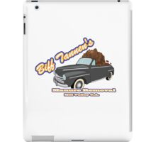 Biff's Manure Removal Services iPad Case/Skin