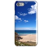 Wild Roses at Broad Haven iPhone Case/Skin