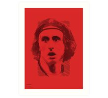 World Cup Edition - Luka Modric / Croatia Art Print