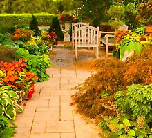 Sunnylea Garden Path by Marilyn Cornwell