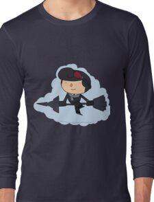 Brawlhalla - Sky Captain Scarlet (black) Long Sleeve T-Shirt