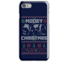 Cute Cow Design MOOEY Ugly Christmas Sweater Cow Poo iPhone Case/Skin