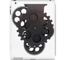 gear clock iPad Case/Skin