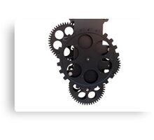 gear clock Canvas Print