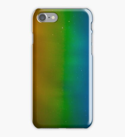 Colour bands and stars iPhone Case/Skin