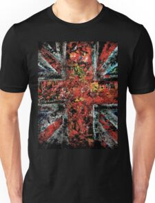 union jack abstract Unisex T-Shirt