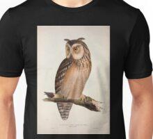 John Gould The Birds of Europe 1837 V1 V5 038 Eastern Great Horned Owl Unisex T-Shirt
