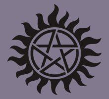 Supernatural Tattoo (black) Kids Tee