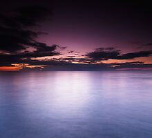Lake Huron beautiful dramatic twilight scenery art photo print by ArtNudePhotos