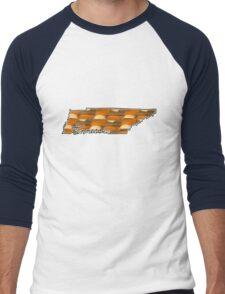 Tennessee Checkered Volunteers Men's Baseball ¾ T-Shirt