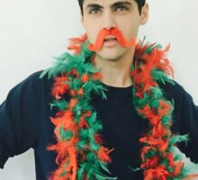 Matthew Daddario Christmas 2015 Sticker