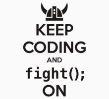 Vikings: Keep on coding One Piece - Short Sleeve