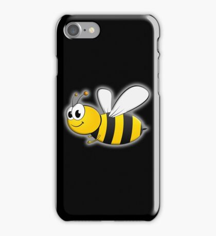 Cartoon, BEE, Bumble, Flying, Insects, Kids, Honey,  iPhone Case/Skin