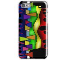 Abstract digital art - Grafenonci V2 iPhone Case/Skin