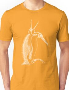 Scary penguin- white Unisex T-Shirt