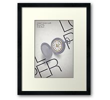 Looper Framed Print