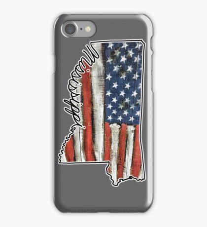 Mississippi USA Merica Murica! iPhone Case/Skin