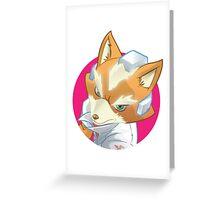 Star Fox (Nintendo Property) Greeting Card