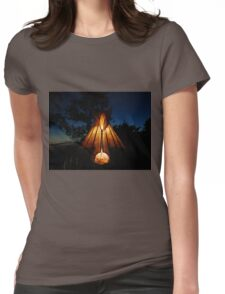 My Tipi At Dusk 2 Womens Fitted T-Shirt