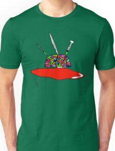 Brainsane (Psychedelic Version) Unisex T-Shirt