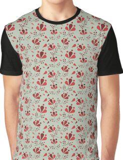 Fall Pattern Graphic T-Shirt