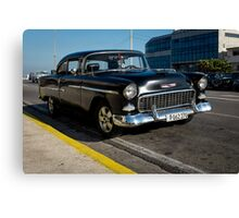 American car from the 50's  Canvas Print