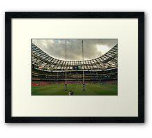 Aviva Stadium Dublin Framed Print