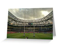 Aviva Stadium Dublin Greeting Card