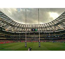Aviva Stadium Dublin Photographic Print
