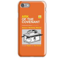 Owners' Manual - Ark of the Covenant - T-shirt iPhone Case/Skin