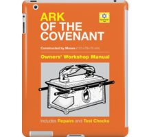 Owners' Manual - Ark of the Covenant - T-shirt iPad Case/Skin