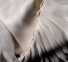 Its in the detail - back of my wedding dress by Karen  Betts