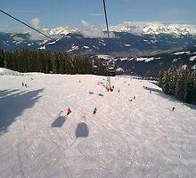 Ski Slopes by karlmagee