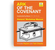 Owners' Manual - Ark of the Covenant - Poster & stickers Canvas Print