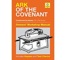 Owners' Manual - Ark of the Covenant - Poster & stickers Photographic Print