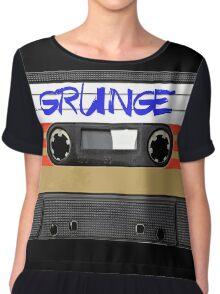 Grunge Music Chiffon Top