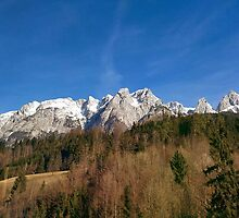 Austria Mountains by karlmagee