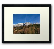 Austria Mountains Framed Print