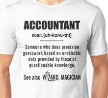 Accountant Definition Shirt - Accountant Gifts Unisex T-Shirt