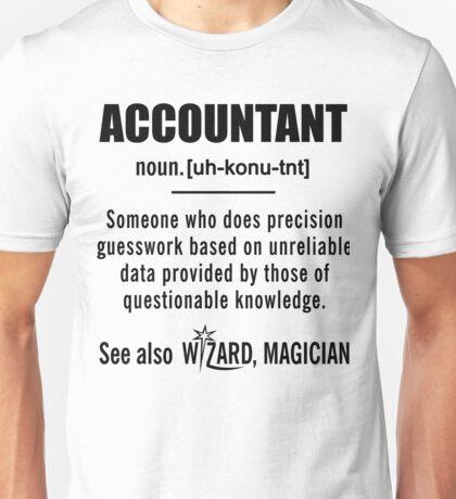 Accountant Definition Shirt - Accountant Gifts Unisex T-Shirt