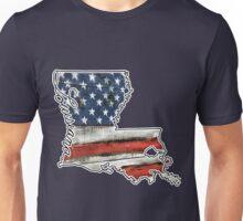 Louisiana USA Flag Unisex T-Shirt