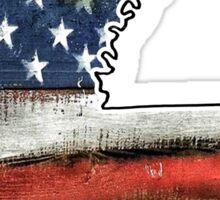 Louisiana USA Flag Sticker