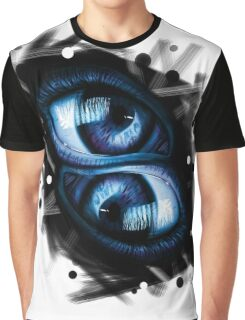 Twins - Blue Eyes Graphic T-Shirt